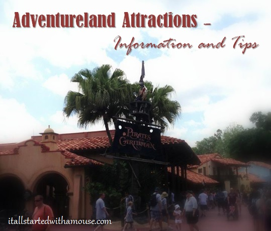 Adventureland attractions