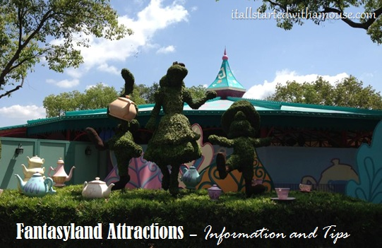 Fantasyland attractions