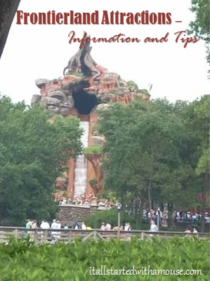 Frontierland attractions