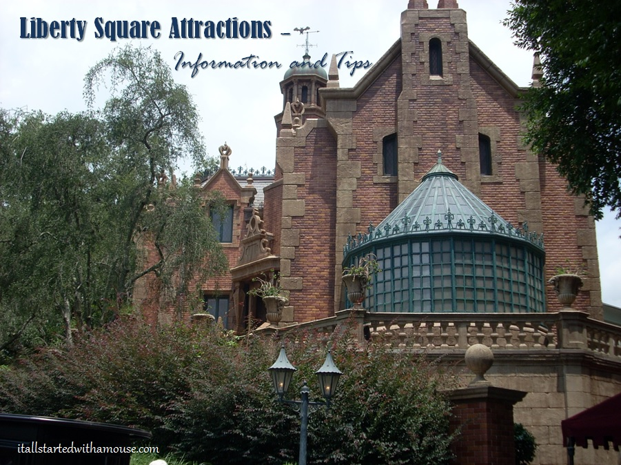 Liberty Square attractions