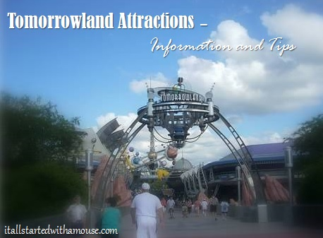 Tomorrowland attractions