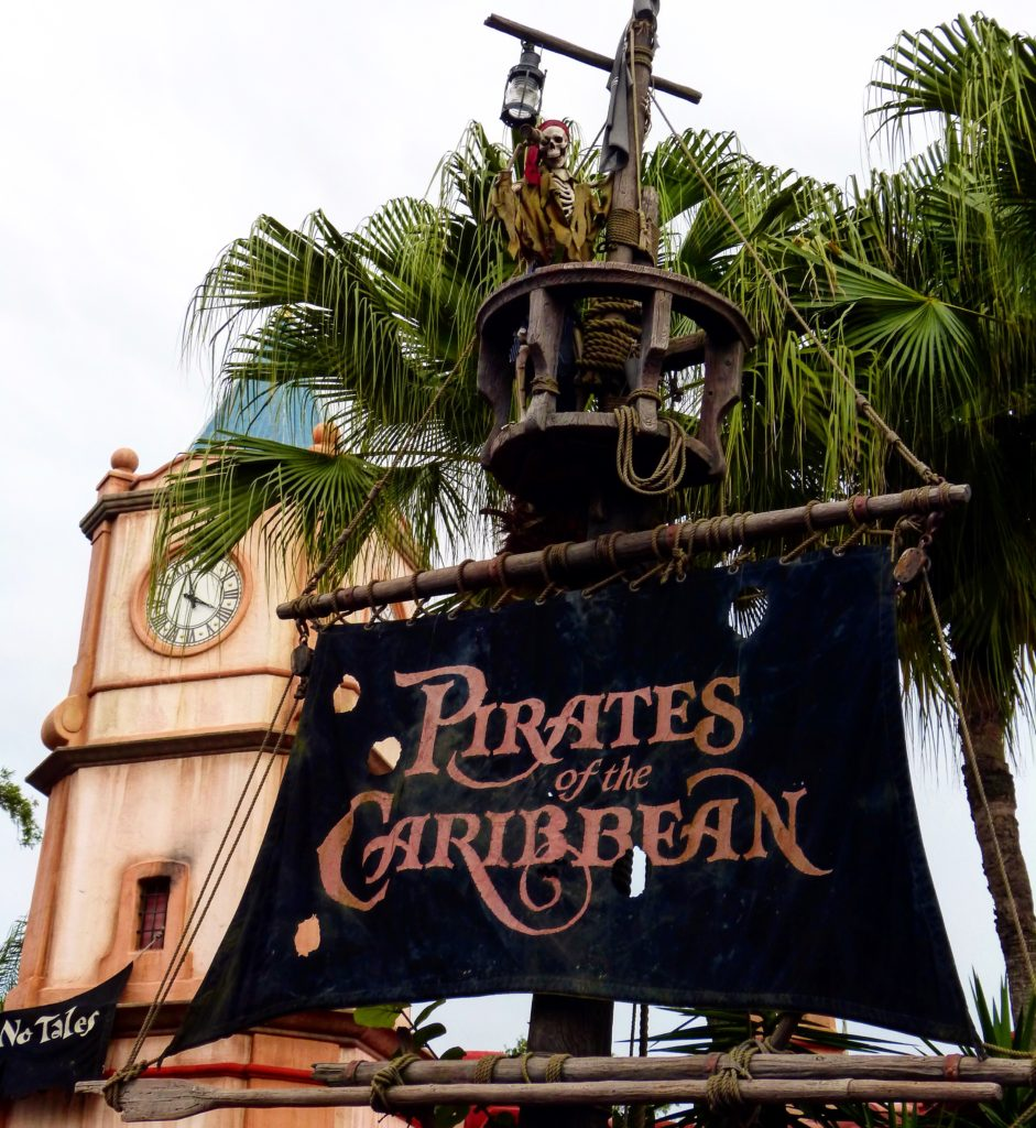 Pirates of the Caribbean #itallstartedwithamouse